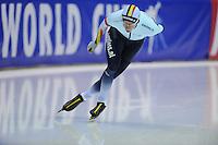 SCHAATSEN: HEERENVEEN: 14-12-2014, IJsstadion Thialf, ISU World Cup Speedskating, Bart Swings (BEL), ©foto Martin de Jong