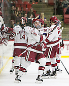 Ryan Donato (Harvard - 16) - The Harvard University Crimson defeated the visiting Rensselaer Polytechnic Institute Engineers 5-2 in game 1 of their ECAC quarterfinal series on Friday, March 11, 2016, at Bright-Landry Hockey Center in Boston, Massachusetts.