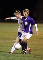Boys Soccer vs Muncie Burris REGIONAL 10-11-12