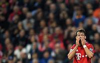 FUSSBALL CHAMPIONS LEAGUE  SAISON 2015/2016 VIERTELFINALE HINSPIEL FC Bayern Muenchen - Benfica Lissabon         05.04.2016 Juan Bernat (FC Bayern Muenchen)