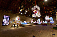 Venice, Italy - 15th Architecture Biennale 2016, &quot;Reporting from the Front&quot;.<br /> Arsenale.<br /> Singapore. Space to imagine, room for everyone.
