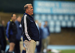 11 October 2007: Duke head coach John Rennie. The University of North Carolina Tar Heels defeated the Duke University Blue Devils 1-0 in overtime at Fetzer Field in Chapel Hill, North Carolina in an Atlantic Coast Conference NCAA Division I Men's Soccer game.