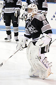 Alex Beaudry (Providence - 35) - The Northeastern University Huskies defeated the visiting Providence College Friars 5-0 on Saturday, November 20, 2010, at Matthews Arena in Boston, Massachusetts.