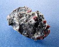 UNCUT RUBY - Corundum<br /> In matrix of bauxite<br /> Al2O3