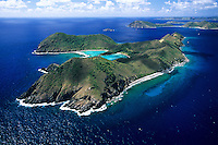 Ginger Island Aerial<br /> British Virgin Islands