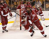 Luke Esposito (Harvard - 9) - The Harvard University Crimson defeated the Boston University Terriers 6-3 (EN) to win the 2017 Beanpot on Monday, February 13, 2017, at TD Garden in Boston, Massachusetts.