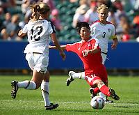 Korean Republic's Yun Hyon Hi. USA v Korea Republic. FIFA U-17 Women's World Cup Final. North Harbour Stadium, Auckland, Sunday 16 October 2008. Photo: Simon Watts/PHOTOSPORT