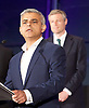 Mayor of London and London Assembly results announcement at City Hall, London, Great Britain <br /> 6th May 2016 <br /> <br /> <br /> <br /> Zac Goldsmith - Conservative<br /> <br /> <br /> <br /> Sadiq Khan - Labour <br /> <br /> <br /> <br /> The winner was Sadiq Khan who is appointed the new mayor of London <br /> <br /> <br /> <br /> Photograph by Elliott Franks <br /> Image licensed to Elliott Franks Photography Services