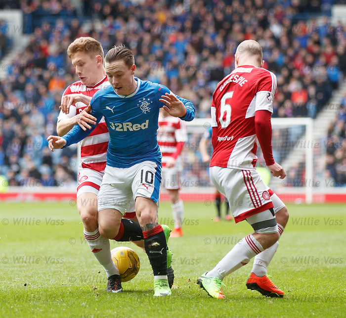 Barrie McKay and Greg Docherty