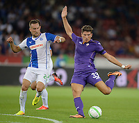 Fussball Euro League Quali 2013/14: Grasshoppers Zuerich - AC Florenz