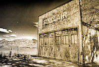 Sinclair Station - Utah (Sepia)