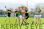 Johnny Buckley Dr Crokes in Action against John Meagher Loughmore-Castleiney in the Munster Senior Club Semi-Final at Crokes Ground, Lewis Road on Sunday