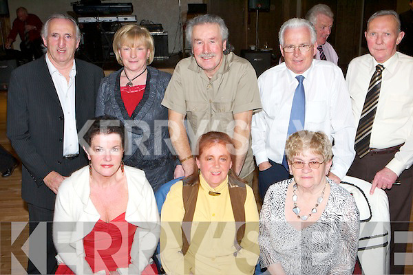 SOCIAL: Enjoying themselves at the Ballinorig get-together held in The Manor West Hotel on Friday night were seated l-r: Meg McCarthy, Mary McCord Kelly and Gene Heaslip. Standing l-r: Edward Hogan, Bridget Lawlor, Robert Kelly, John Heaslip and Tim Hannifin.   Copyright Kerry's Eye 2008