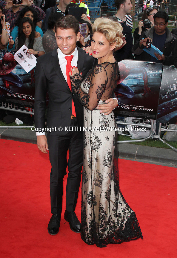 London - Keith Lemon at the UK Premiere of 'The Amazing Spider-Man' at the Odeon, Leicester Square, London - June 18th 2012..Photo by Keith Mayhew
