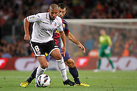 02/09/2012 - Liga Football Spain, FC Barcelona vs. Valencia CF Matchday 3 - Feghouli duels with Mascherano