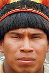 Kamayura Indians, Upper Xingu River, Matogrosso, Brazil