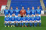 St Johnstone FC Academy U17's<br /> Back row from left, Keiron Sneddon, Joe Johnson, Morgan Reid, Kenny Giles, Cameron Lumsden, Greg Denton and Bradley Sinclair.<br /> Front row from left, Jamie Docherty, Paul Esslemont, Marc Gow, Angus Mailer, Kier McAuley, Ally McCann and Declan Boyle<br /> Picture by Graeme Hart.<br /> Copyright Perthshire Picture Agency<br /> Tel: 01738 623350  Mobile: 07990 594431