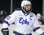 Nick Anderson (Williams - 10) - The Williams College Ephs defeated the Trinity College Bantams 4-2 (EN) on Tuesday, January 7, 2014, at Fenway Park in Boston, Massachusetts.