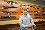 Nathan Yow is the owner of Mississippi Auto Arms, located in High Cotton, on Friday, March 12, 2010.