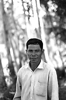 Him Huy, a former Khmer Rouge guard at the S-21 detention centre at Tuol Sleng, where over 16,000 inmates were killed between 1975 and 1979. Him Huy once confessed to killing over 1,000 prisoners, but now says that he executed only a few people.