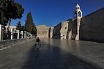The Church of the Nativity in Bethlehem, West Bank, believed to be the birth place of Jesus Christ.