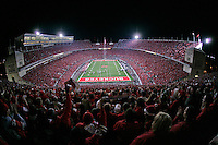Ohio State plays a night game during the 1st quarter. Penn State University vs. Ohio State in Columbus, Ohio October 25, 2008 at Ohio Stadium. (Dispatch photo by Craig Holman)
