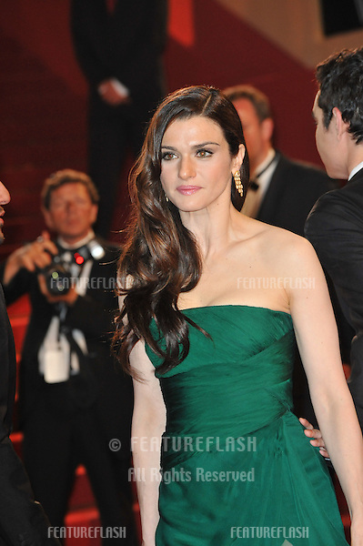 """Rachel Weisz  at premiere for her new movie """"Agora"""" in competition at the 62nd Festival de Cannes..May 17, 2009  Cannes, France.Picture: Paul Smith / Featureflash"""