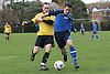 Christchurch Royals vs Priory Quays in the hayward premier league at Christchurch rec. 11-12-11