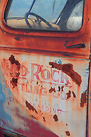 Red Rock Bottling Company Truck Door - Motor Transport Museum - Campo, CA