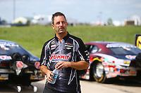 May 22, 2016; Topeka, KS, USA; NHRA pro stock driver Greg Anderson during the Kansas Nationals at Heartland Park Topeka. Mandatory Credit: Mark J. Rebilas-USA TODAY Sports