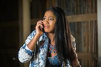 Keke Palmer as Zayday looking worried in Scream Queens, Season 1