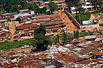 Aerial view of Enugu, Nigeria