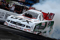 BRISTOL, TN - APRIL 30: John Force drives his Funny Car during the O'Reilly NHRA Thunder Valley Nationals on April 30, 2006, at Bristol Dragway near Bristol, Tennessee.