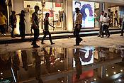 Indians shop at the upmarket Vasant Vijhar market in New Delhi, India. Photograph: Sanjit Das/Panos