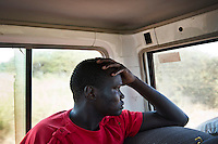 Joseph Gatyoung Khan travels between Bentiu and Nyala on his way back to his home village. Joseph is a Lost Boy. He was among the thousands who fled Sudan during the civil war, and after living in the United States, he is returning for the first time in 22 years. Many Sudanese are returning home, mainly to participate in the upcoming referendum in January 2011 when South Sudan will vote on its independence..