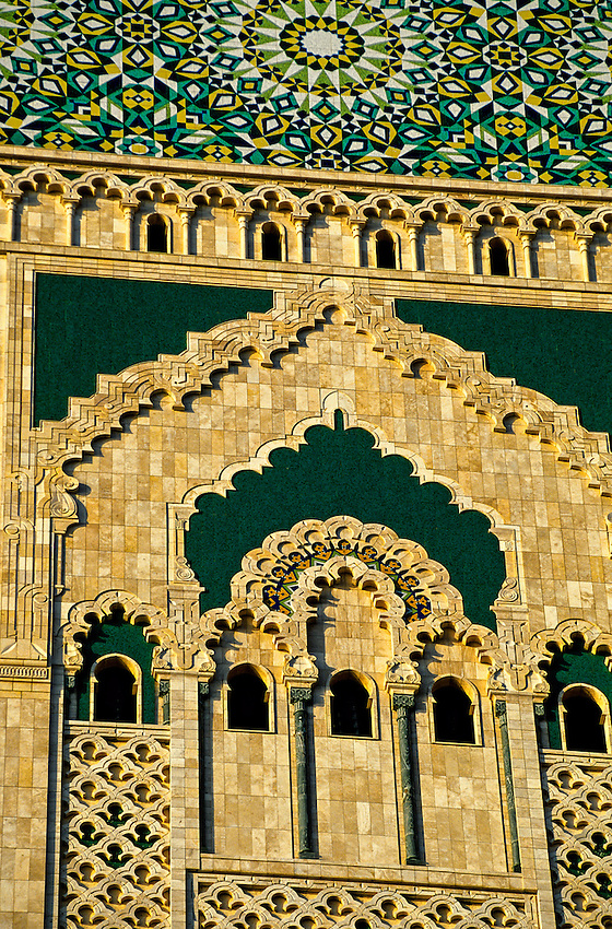 Grande mosquee d 39 hassan ii casablanca morocco blaine for Mosquee hassan 2 architecture
