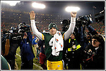 .The Green Bay Packers hosted the St. Louis Rams in Monday Night Football at Lambeau Field in Green Bay, Wi, November 29, 2004. WSJ/Steve Apps.