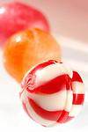 Colorful appetizing lollipops close-up Vertical orientation