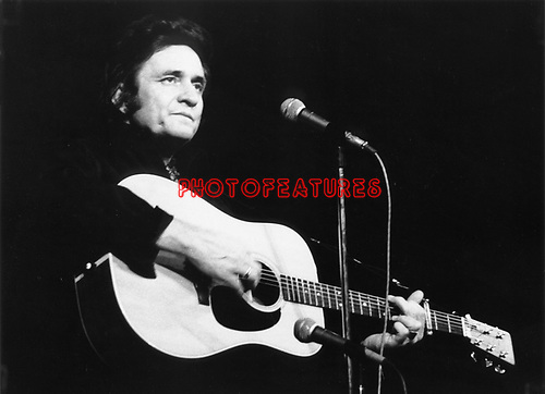 Johnny Cash 1975.© Chris Walter.