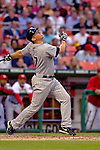 12 June 2006: Garrett Atkins, third baseman for the Colorado Rockies, watches one fly during a game against the Washington Nationals at RFK Stadium, in Washington, DC. The Rockies defeated the Nationals 4-3 in the first game of the four game series...Mandatory Photo Credit: Ed Wolfstein Photo..