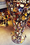 guitar sculpture at Experience Music Project