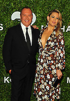 NEW YORK, NY - OCTOBER 17: Kate Hudson and Michael Kors at the God's Love We Deliver Golden Heart Awards on October 17, 2016 in New York City. Credit: John Palmer/MediaPunch