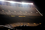 The Darryl K. Royal Memorial Stadium at night, Austin Texas, November 22 2009.