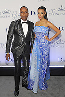NEW YORK, NY - OCTOBER 24:  Leslie Odom Jr. and Nicolette Robinson attend the 2016 Princess Grace Awards Gala at Cipriani Broadway on October 24, 2016 in New York City. Photo by John Palmer/MediaPunch