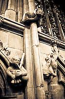 Minstrel Gargoyles in Beverley Minster, UK