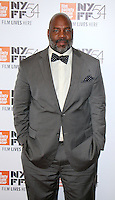 "NEW YORK, NY-September 30:William Jelani Cobb at 54th New York Film Festival - Opening Night Gala Presentation And ""13th"" World Premiere at Alice Tully Hall at Lincoln Center in New York. September 30, 2016. Credit:RW/MediaPunch"
