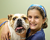 SAN ANTONIO , TX - SEPTEMBER 12, 2009: Portraits of customer pets taken at the Boerne Stage Veterinary Clinic Open House. (Photo by Jeff Huehn)