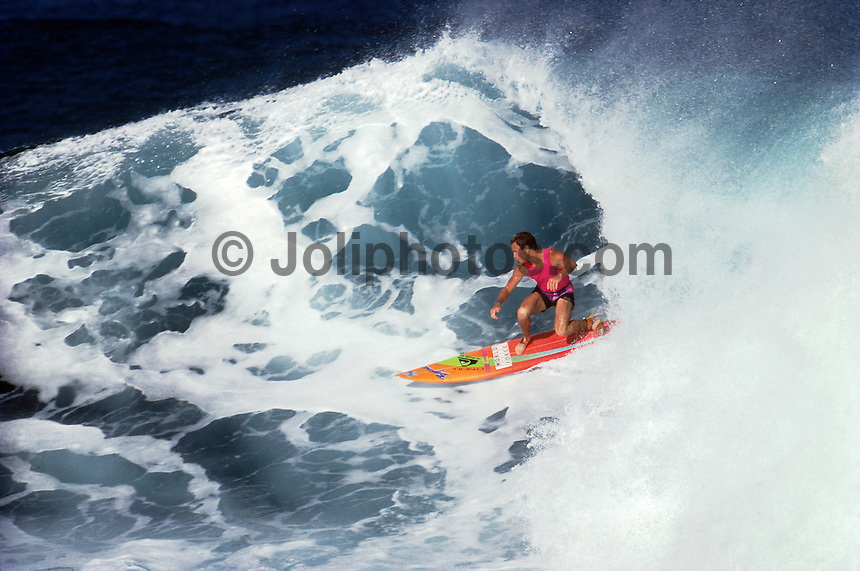 Tom Carroll (AUS) Hawaii USA 1987. Photo:  joliphotos.com