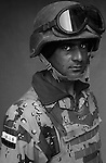 Pvt. Alla Auwad Wared, 22, Baghdad, Student, 4th Co., 2nd Battalion, 7th Division of the Iraqi Army in Haditha, Iraq on Mon. Nov. 28, 2005.