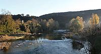 River Fluvia, Besalu, Girona, Spain. Picture by Manuel Cohen